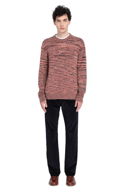 MISSONI Sweater Salmon pink Man - Front