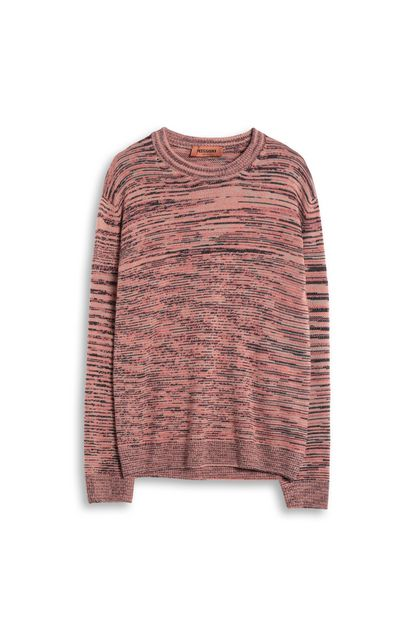 MISSONI Sweater Salmon pink Man - Back