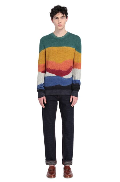 MISSONI Sweater Ochre Man - Front