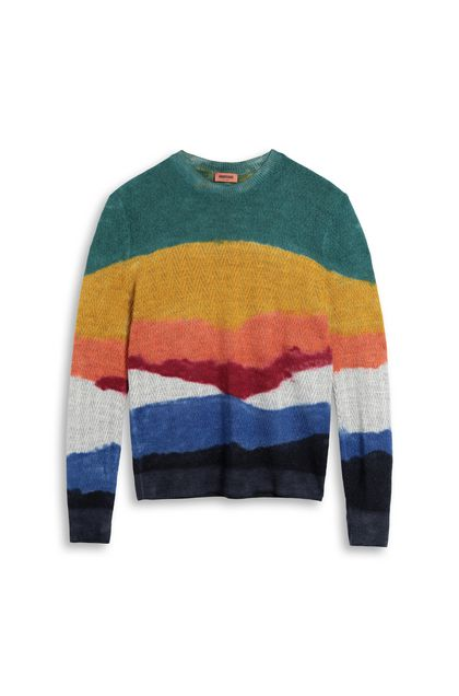 MISSONI Jumper Ochre Man - Back