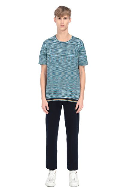MISSONI Men's T-Shirts Azure Man - Front