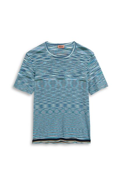 MISSONI Sweater Azure Man - Back