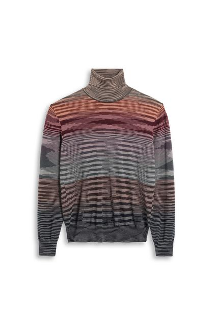 MISSONI Jumper Brown Man - Back