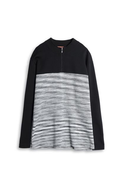 MISSONI Zip Jumper Black Man - Back