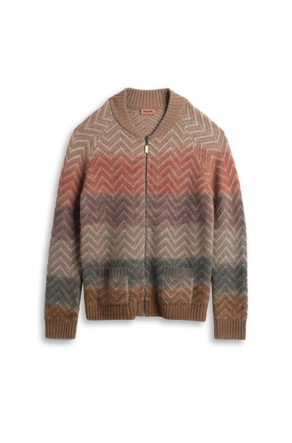 MISSONI Cardigan Light brown Man - Back
