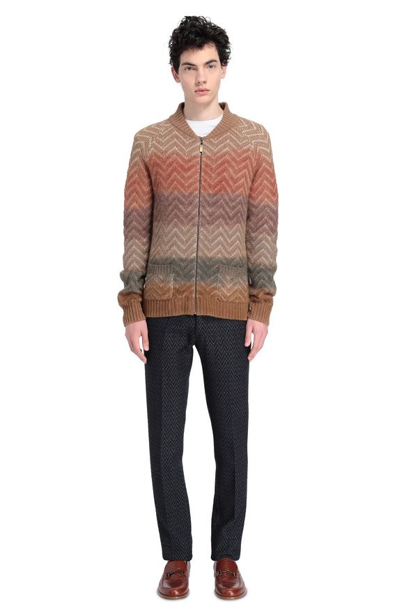 MISSONI Cardigan Man, Rear view