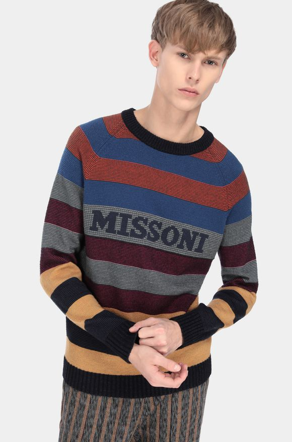MISSONI Sweater Man, Detail