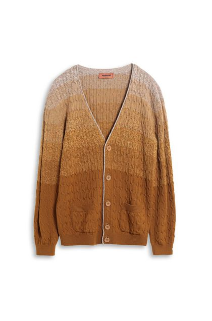 MISSONI Cardigan Ochre Man - Back