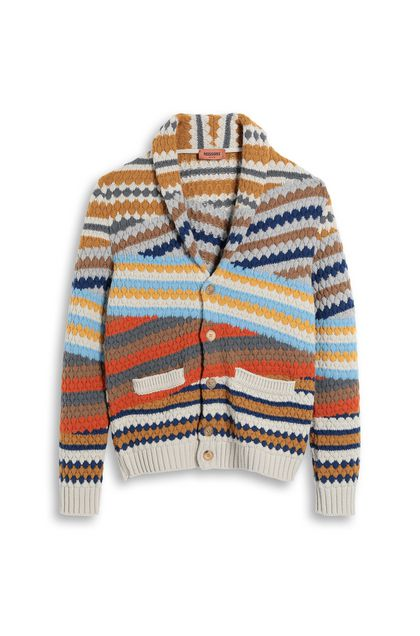 MISSONI Cardigan Beige Man - Back