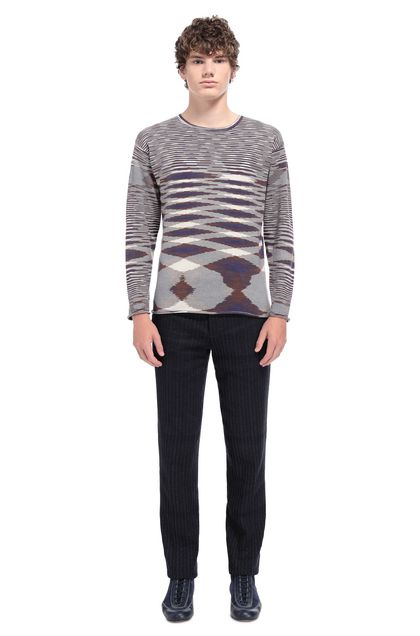 MISSONI Crew-neck Purple Man - Front