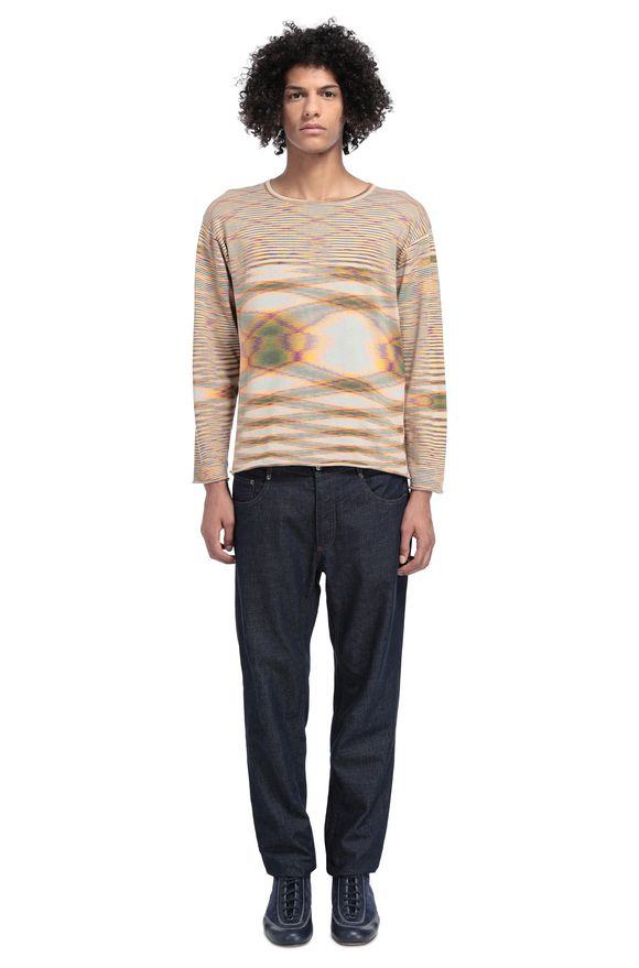 MISSONI Crew-neck Man, Rear view