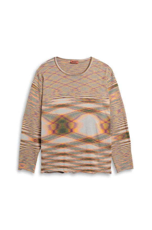 MISSONI Crew-neck Green Man