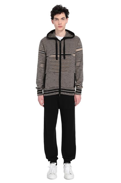 MISSONI Sweat-shirt Beige Homme - Devant