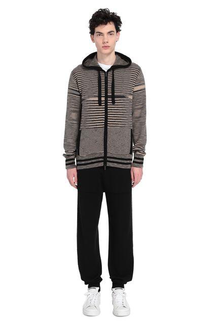 MISSONI Sweatshirt Beige Man - Front