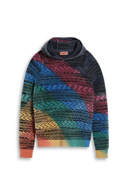 MISSONI Sweatshirt Red Man - Back