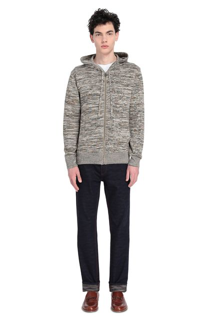 MISSONI Sweatshirt Grey Man - Front