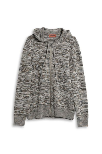 MISSONI Sweatshirt Grey Man - Back