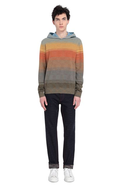 MISSONI Sweat-shirt Ocre Homme - Devant