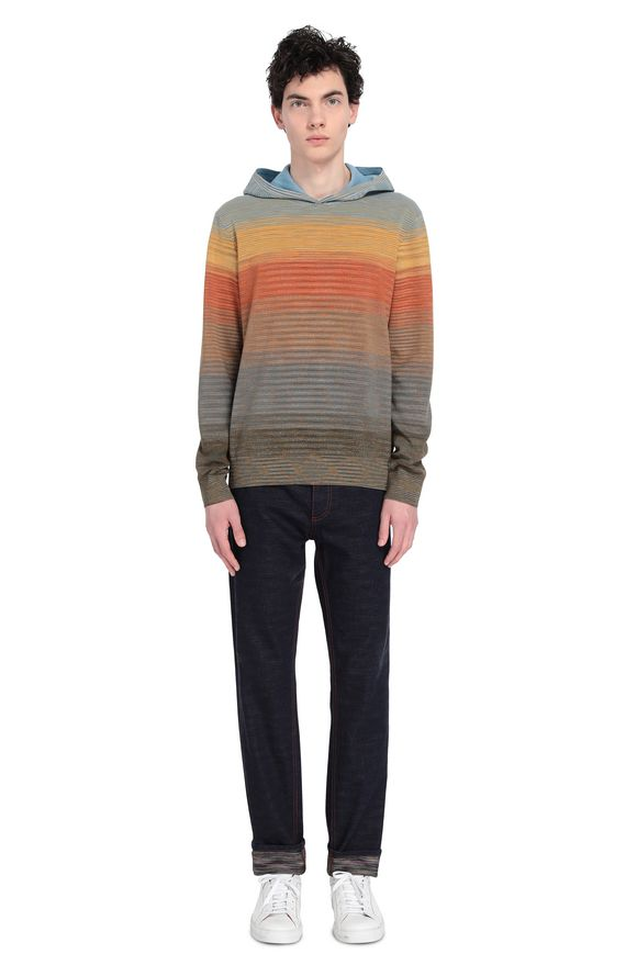 MISSONI Sweatshirt Man, Rear view