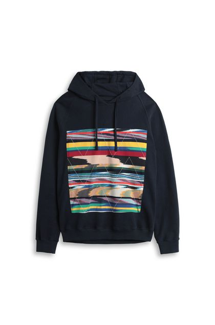 MISSONI Sweatshirt Dark blue Man - Back