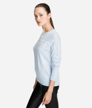 KARL LAGERFELD Wool Logo Jumper Sweater Woman a