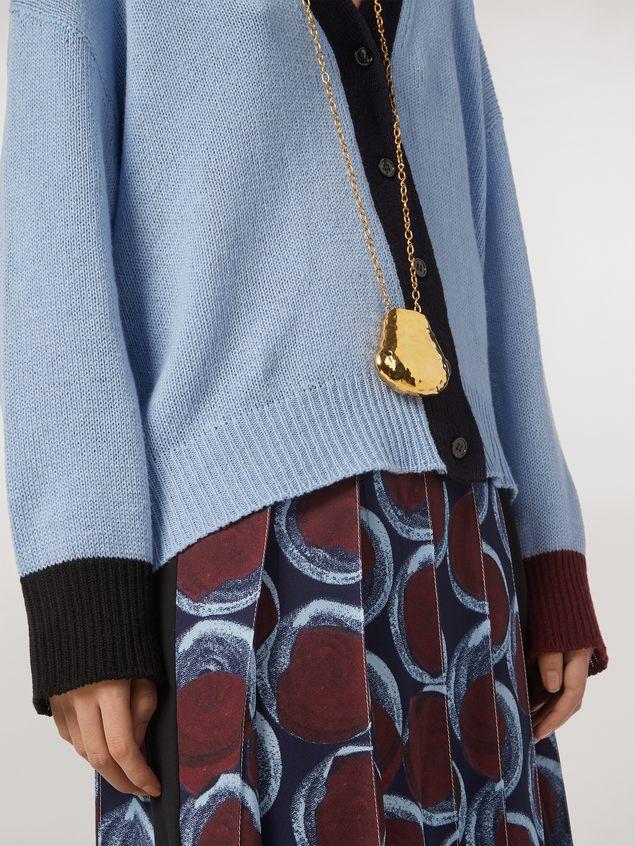 Marni Color block cashmere cardigan Woman - 4