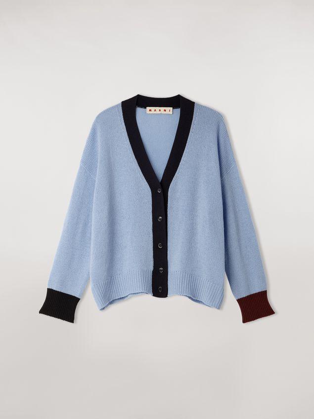 Marni Color block cashmere cardigan Woman - 2