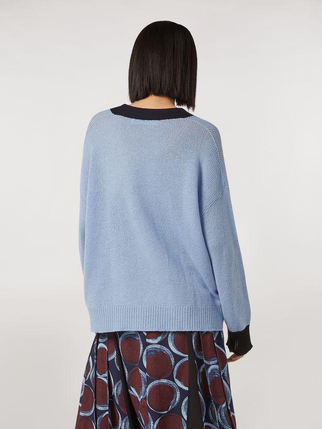 Marni Color block cashmere cardigan Woman - 3