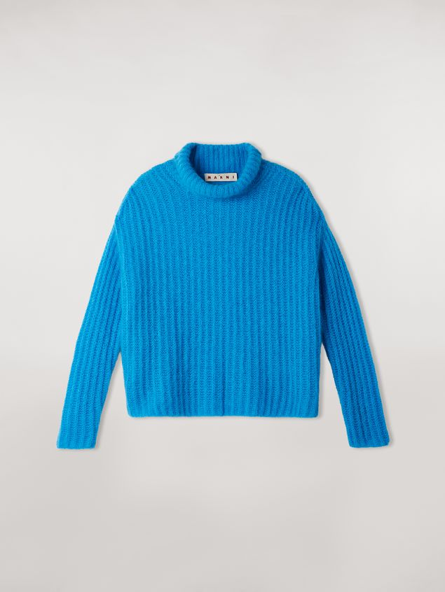 Marni Ribbed turtleneck in mohair Woman - 2