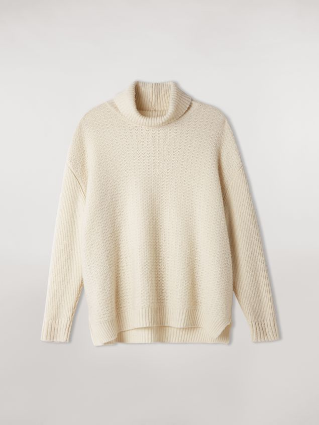 Marni Mixed-stitch turtleneck in cashmere blend Woman - 2