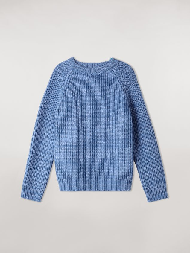 Marni Ribbed crewneck knit in virgin wool Woman - 2