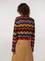 Marni Wool and mohair crewneck sweater with wave motif Woman - 3