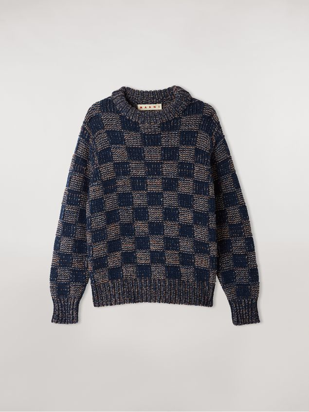 Marni Crew neck knit in virgin wool Woman - 2