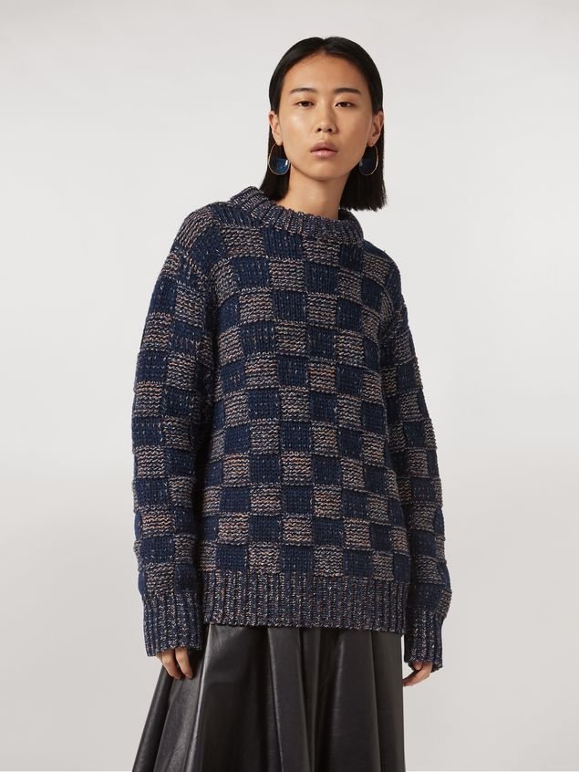 Marni Crew neck knit in virgin wool Woman - 1