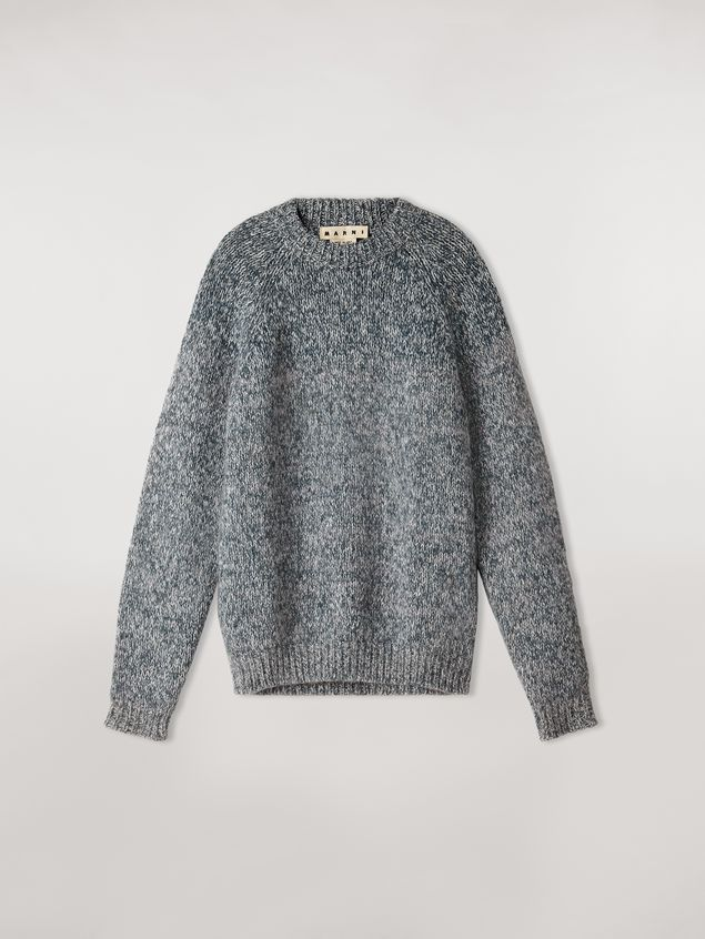 Marni Shaded wool and mohair sweater Man - 2