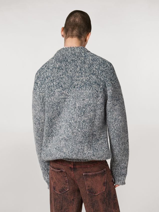 Marni Shaded wool and mohair sweater Man - 3