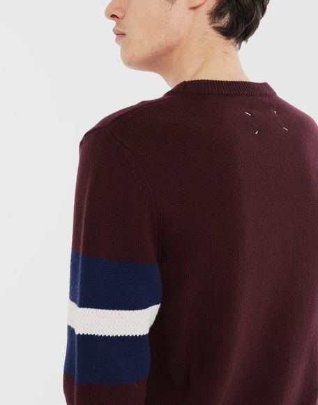 MAISON MARGIELA Stripe sweater Crewneck Man b