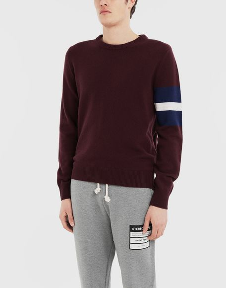 MAISON MARGIELA Stripe sweater Crewneck Man r