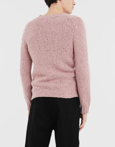 MAISON MARGIELA Destroyed hem sweater Crewneck sweater Man e