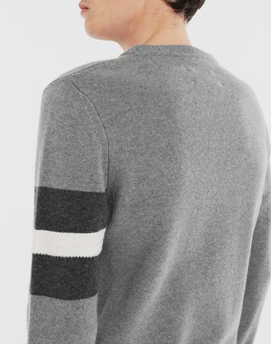 KNITWEAR Stripe sweater  Grey