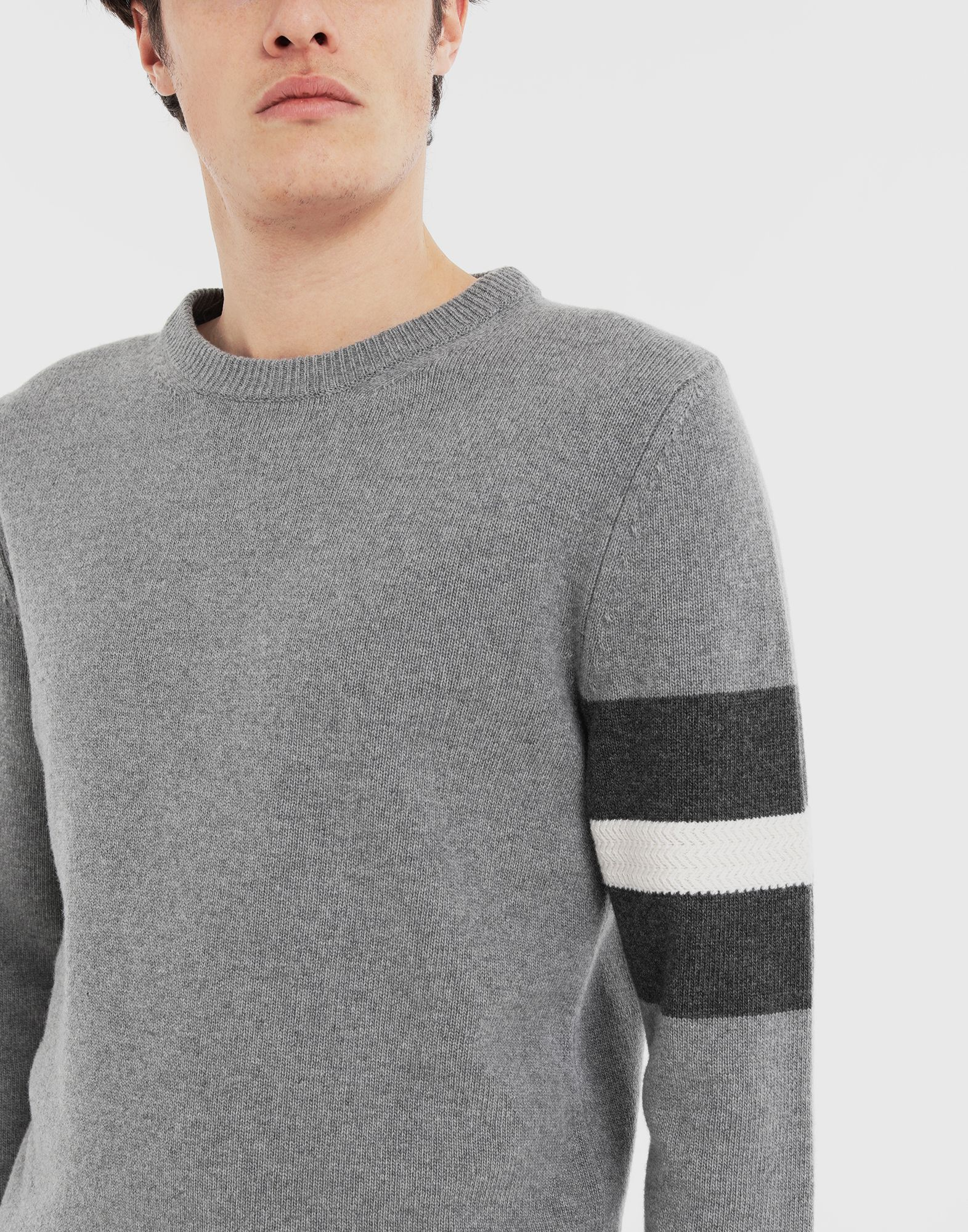 MAISON MARGIELA Stripe sweater Crewneck Man a