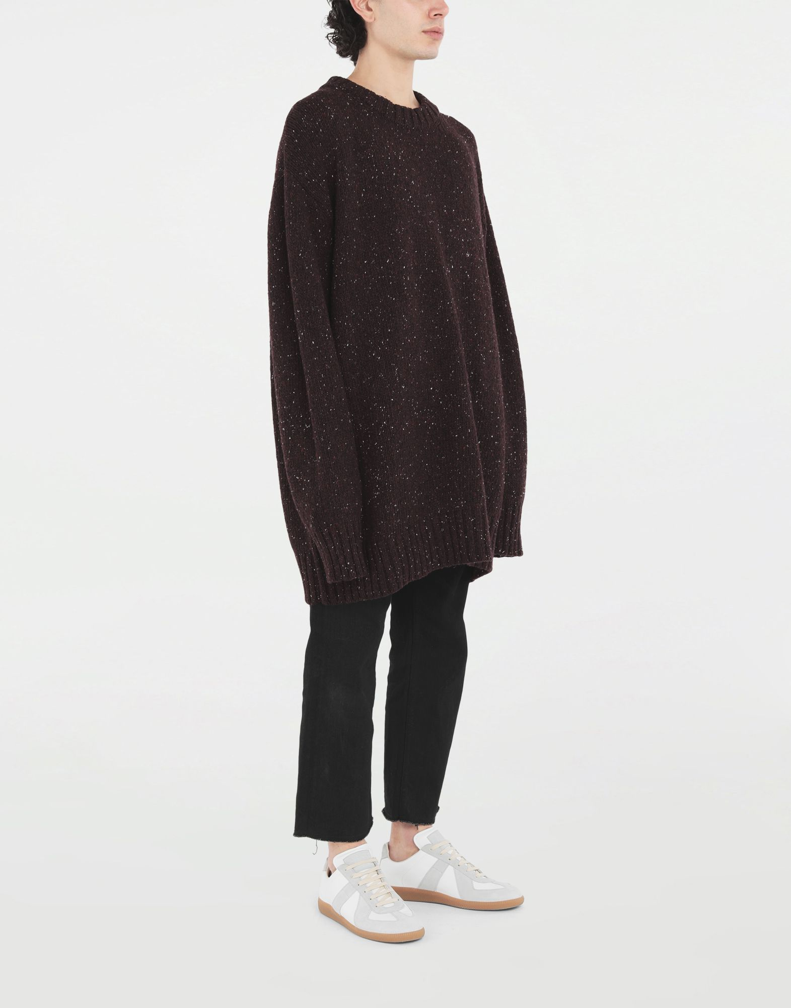 MAISON MARGIELA Oversized sweater Crewneck sweater Man d