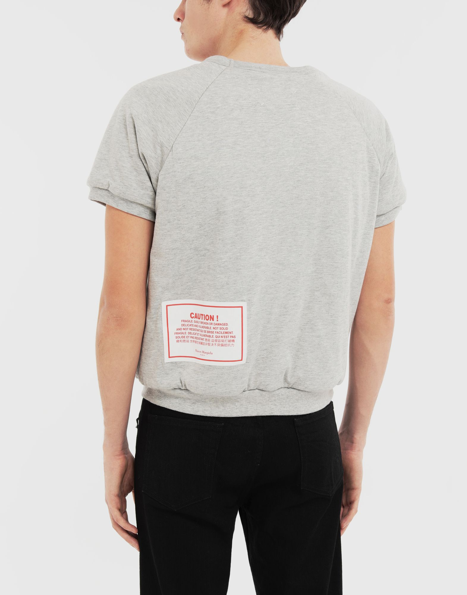 MAISON MARGIELA 'Caution' top Sweatshirt Man e