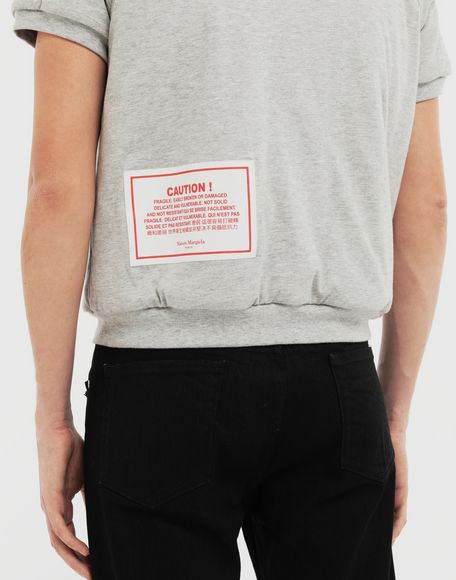 MAISON MARGIELA 'Caution' top Sweatshirt Man b