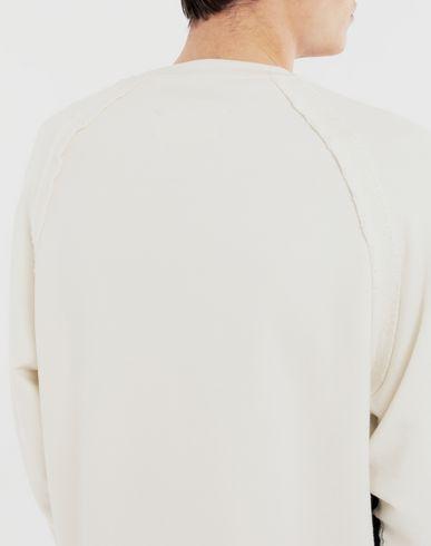 SWEATERS Logo sweatshirt White
