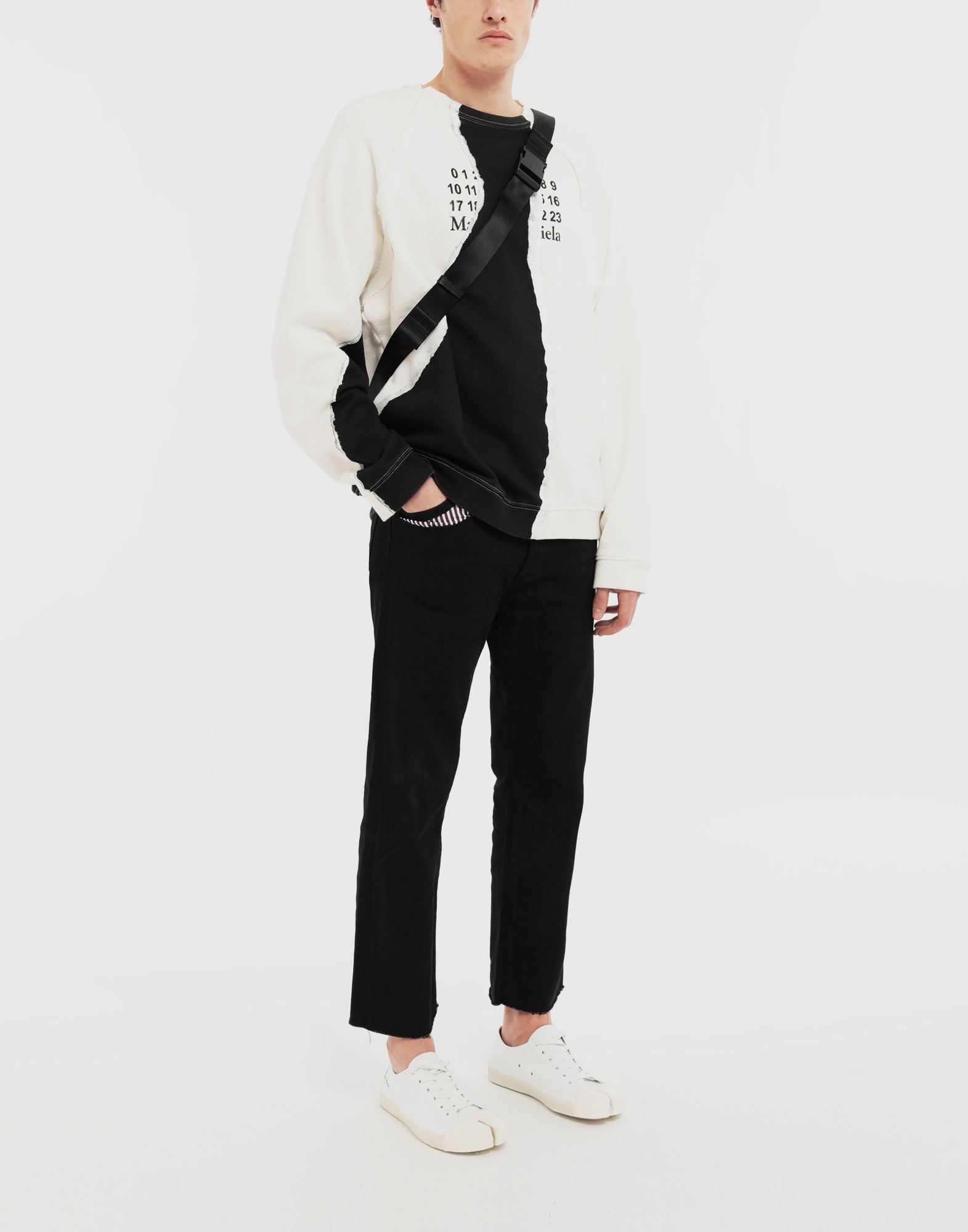 MAISON MARGIELA Sweat-shirt logo Sweatshirt Homme d