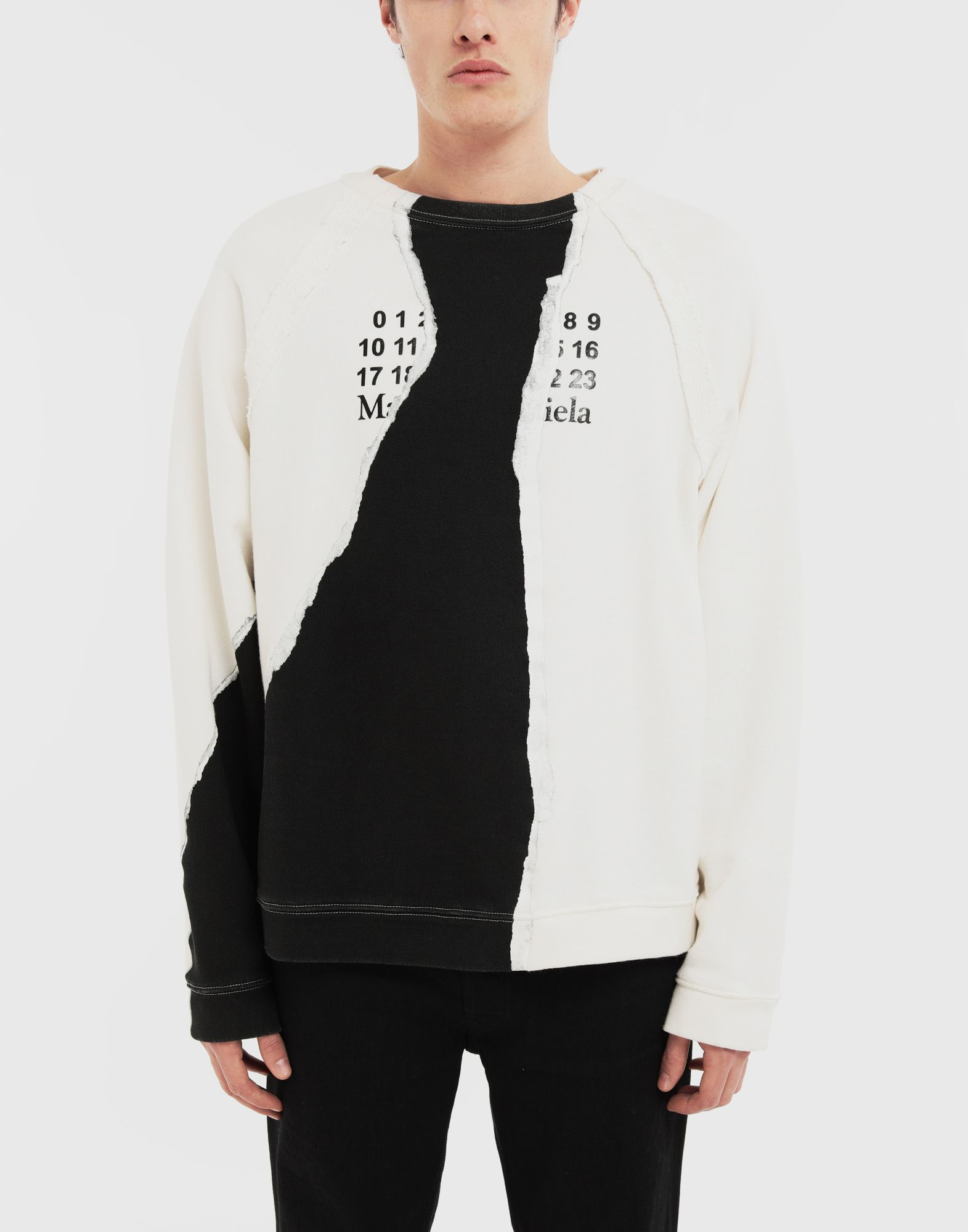MAISON MARGIELA Sweat-shirt logo Sweatshirt Homme r