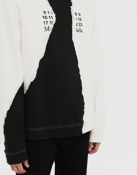 MAISON MARGIELA Sweat-shirt logo Sweatshirt Homme a