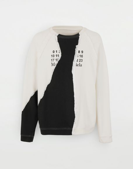 MAISON MARGIELA Sweat-shirt logo Sweatshirt Homme f