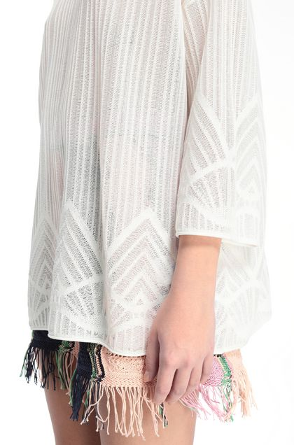 M MISSONI Sweater White Woman - Front